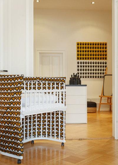 Uli Kaufmann my houzz personality abounds in a fashion focused frankfurt home