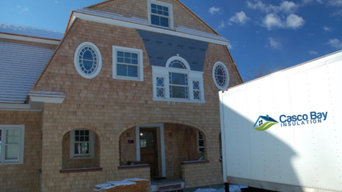 Freeport new home insulation project