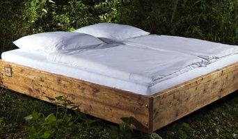 Schwebende Sternschanze - Bett
