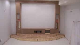 home theater install