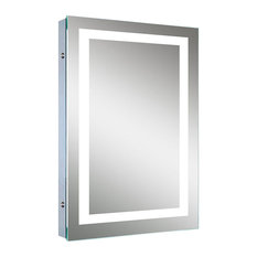 Lighted bathroom mirrors top reviewed bathroom mirrors of 2018 lighted image led bordered illuminated mirror bathroom mirrors aloadofball Images