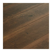 Armstrong Architectural Remnants Oak Gunstock 12 mm. Laminate Flooring Sample