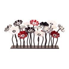 Black Cherry Garden Table Centerpiece