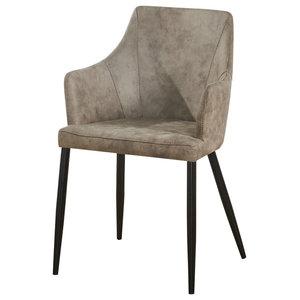 Zarah Chair Dining Chair, Light Brown