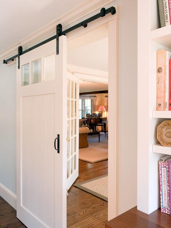 Interior Barn Doors With Windows barn door with window | houzz