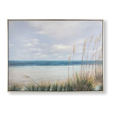 """Coastal Shores"" Framed Wall Art"