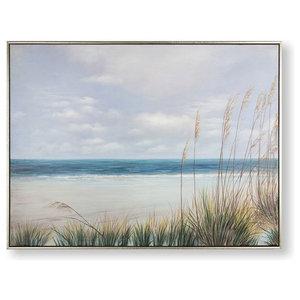 """Coastal Shores"" Framed Wall Art"