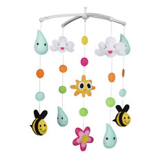 Unisex Baby Musical Mobile, Nursery Crib Cot Musical Mobile, Colorful