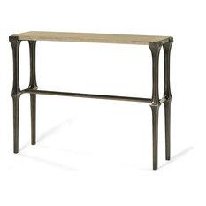 Alden Parkes Rodann Light Gray Console Table