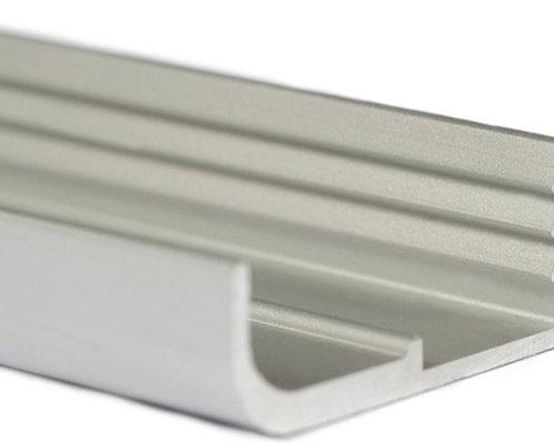 Aluminum extruded handles continuous pulls aluminum extruded handles lungo cabinet and drawer handle pulls sciox Gallery