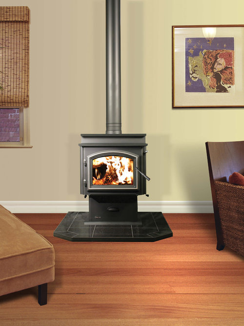 Make artificial flame fireplace ines nero for Engineered fireplace