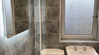 Grey Bathroom Renovation