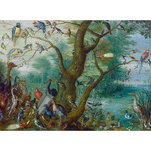 """Concert of Birds, Masterpiece Classic 1660"" Print, 12""x18"""