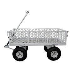 Oldschool Steel Garden Cart