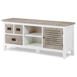 Farmhouse Entertainment Centers And Tv Stands by Sea Winds Trading
