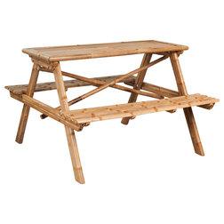 Rustic Garden Dining & Patio Tables by Vida XL International B.V.
