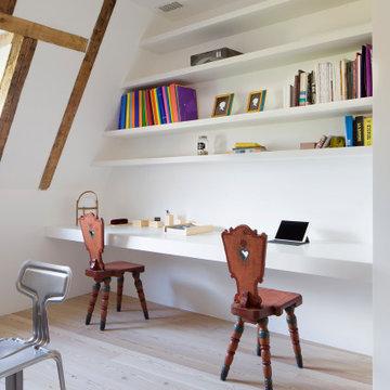 studio con vista scrivania