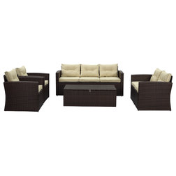 Vintage Tropical Outdoor Lounge Sets by THY HOM