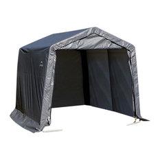 10'x8'x8' Peak Style Shelter, Gray