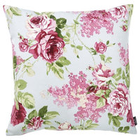 """Easy Care Pink Green Decorative Throw Pillow Cover Home Decor 20''x20'', 20""""x20"""""""