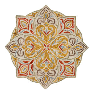 Hand Hooked Bonifate Area Rug Bft 1025 Traditional