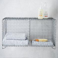 Wire Mesh Storage - Hanging Double Shelf