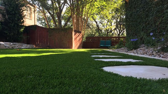 Landscape Architecture Design with artificial turf
