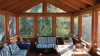 Concord, MA screen porch