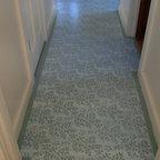Acadian Home Hallway