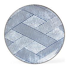 "Aizome Shima 10"" Plate"
