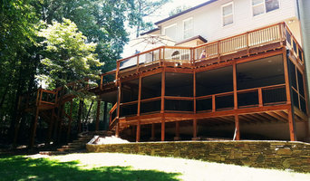 Multi-Level Deck with Screen Room