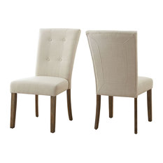 Debby Side Chairs Set Of 2 Beige