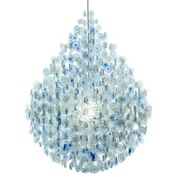 Luxury Contemporary Chandeliers by EcoFirstArt