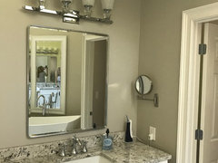 Should Vanity Light Be Wider Than Mirror