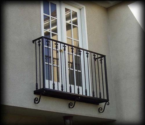 Faux Juliet Balcony