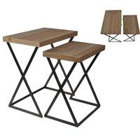 Set of 2 Rectangular Nested Table