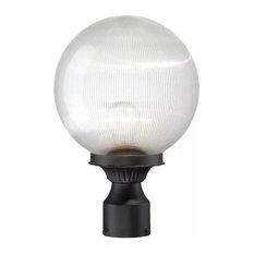 Acclaim Lighting 5267 Havana 1 Light Post Light - Matte Black with Clear