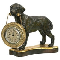 Sterling Industries Lab Clock - Holder, Painted Finish