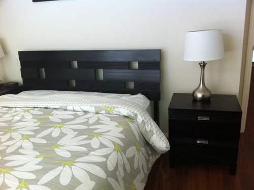 Need Help Decorating Bedroom With Echo Fan Floral Bedding