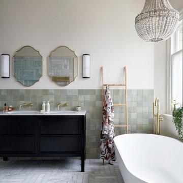 Edwardian Mansion bathrooms