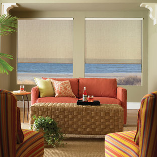 Inspiration for a tropical home design remodel in Other