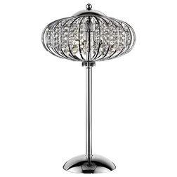 Contemporary Table Lamps by Sintechno, Inc.