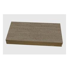 "1/4"" (6mm) Forna Glue Down Cork Tiles, Gray Bamboo"