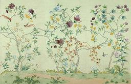 Ashford Garden Wallpaper, Green