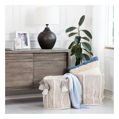Belgrave Cotton & Wool Storage Basket, Set of 2