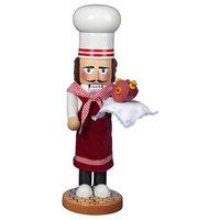 "Kurt Adler 19"" Steinbach Santa Chef Nutcracker"