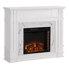 Highgate Electric Media Fireplace - Natural