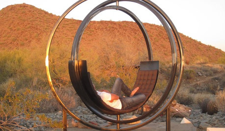 Is It a Gyroscope or Sculpture? Nope, It's a Chair