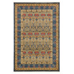 Unique Loom - Unique Loom Carnation Edinburgh Area Rug, Navy Blue, 6'x9' - The classic look of the Edinburgh Collection is sure to lend a dignified atmosphere to your home. With an array of colors and patterns to choose from, there�s a rug to suit almost any taste in this collection. This Edinburgh rug will tie your home�s decor together with class and amazing style.