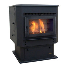 Magnum Countryside Flex-Fuel Stove with Pedestal and Black Door